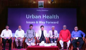 Policy Seminar on Urban Health at LGED Auditorium, Agargaon, Dhaka