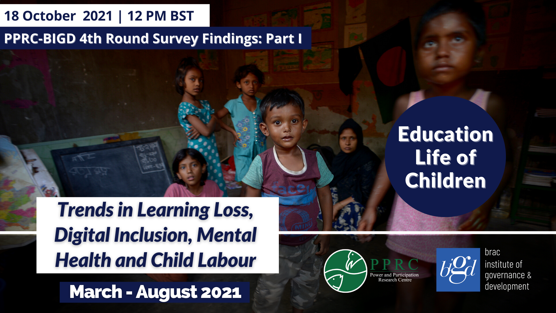 Urgent need to address the twin problems of learning loss and poor mental health as part of educational recovery